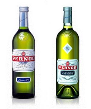 アニスリキュールのペルノとペルノ アブサン