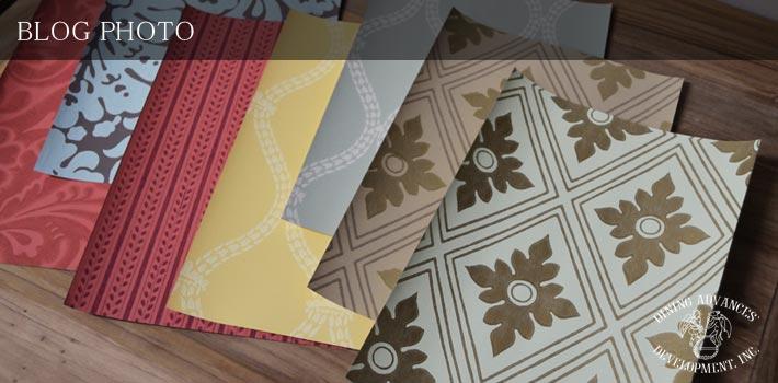 カラーワークスのイギリス伝統のパターン柄壁紙
