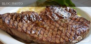 茅場町水天宮前の貸切ができる米風居酒屋プラナジラソルのステーキ