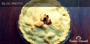 蛎殻町水天宮前のアメリカ料理居酒屋プラナジラソルのアップルパイ