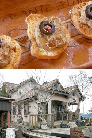 まるでフォアグラレバーパテと一軒家のイタリアンレストラン
