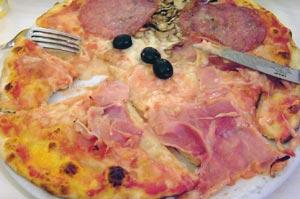 茅場町水天宮前イタリアンピッツェリアプラナバルカの資料ローマで食べたピザ