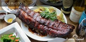 水天宮前茅場町の貸切出来る欧風居酒屋プラナジラソルのダイナミックボリューム骨付き肉宴会コース